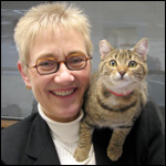 Brenda with Cat